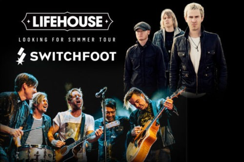 Lifehouse Tour Schedule